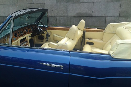 Oldtimer Rolls-Royce Corniche