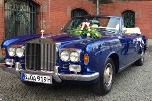 Hochzeitsauto, Oldtimer Rolls-Royce Corniche