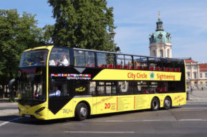 City Circle Bus Viseon Schloss Berlin Charlottenburg